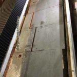 Гидроабразивная резка керамогранита толщиной 3 мм.