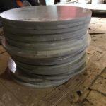 Гидроабразивная резка алюминия - фото